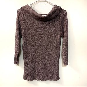 New York & Company Knit Cowl Neck Sweater